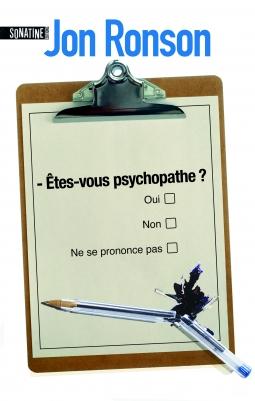 Couverture Etes-vous psychopathe ?