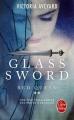 Couverture Red queen, tome 2 : Glass sword Editions Le Livre de Poche 2017