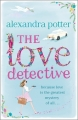 Couverture The Love Detective Editions Hodder 2014