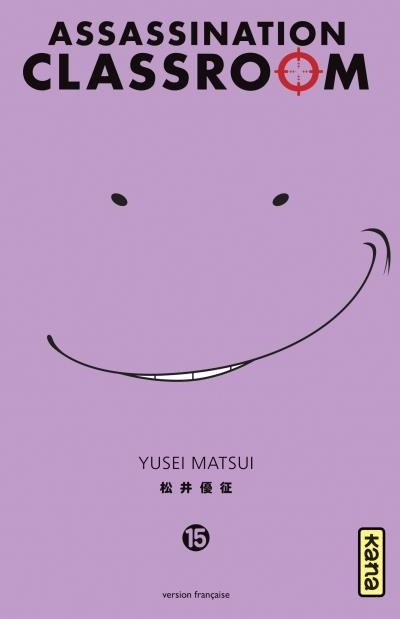 Couverture Assassination Classroom, tome 15