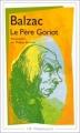 Couverture Le Père Goriot Editions Flammarion (GF) 1996