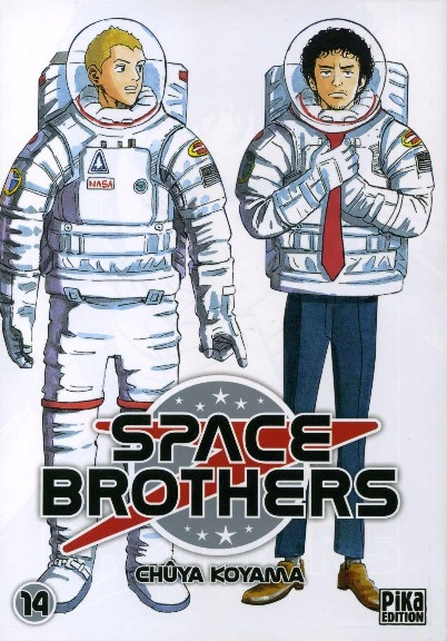 Couverture Space Brothers, tome 14