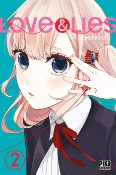 Couverture Love & lies, tome 2
