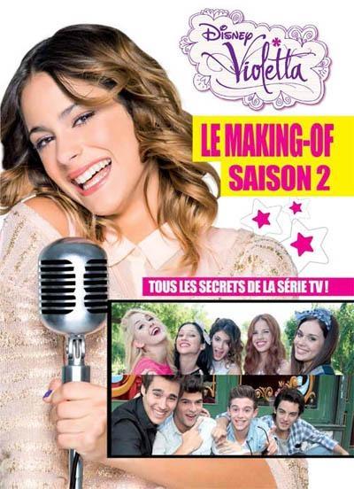 Couverture Violetta : Le making-of, saison 2
