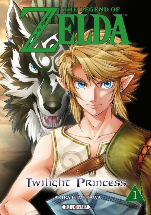 Couverture The legend of Zelda : Twilight Princess, tome 1