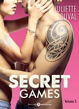 Couverture Secret games, tome 3
