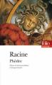 Couverture Phèdre Editions Folio  (Théâtre) 2014