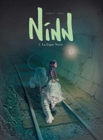 Couverture Ninn, tome 1 : La ligne noire