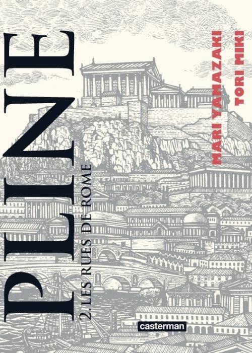 Couverture Pline, tome 2 : Les rues de Rome