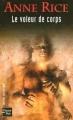 Couverture Chroniques des vampires, tome 04 : Le voleur de corps Editions Fleuve 2004