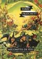 Couverture Les Annales du Disque-Monde, tome 12 : Mécomptes de fées Editions L'Atalante (La Dentelle du cygne) 2015