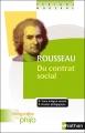 Couverture Du contrat social Editions Nathan 2011