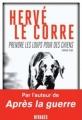 Couverture Prendre les loups pour des chiens Editions Rivages 2017