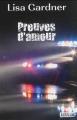 Couverture Preuves d'amour Editions VDB 2014