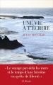 Couverture Une vie à t'écrire Editions Les Escales 2017