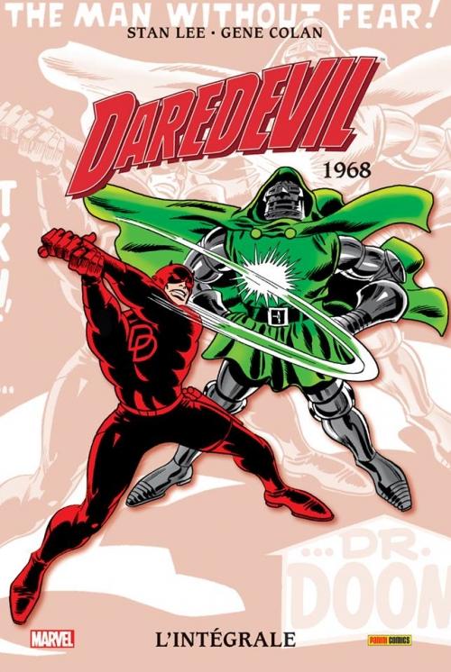Couverture Daredevil, intégrale, tome 04 : 1968