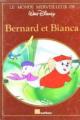 Couverture Bernard et Bianca Editions Nathan (Le monde merveilleux de Walt Disney) 1986