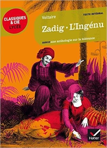 Couverture Zadig, L'Ingénu