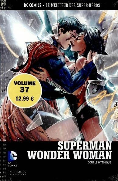 Couverture Le Meilleur des Super-Héros : Superman/Wonder Woman : Couple Mythique