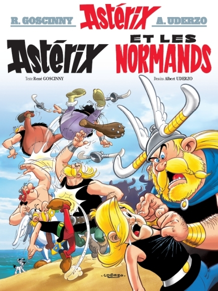 Couverture Astérix, tome 09 : Astérix et les normands