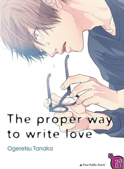 Couverture The proper way to write love