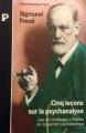 Couverture Cinq leçons sur la psychanalyse Editions Payot (Petite bibliothèque) 1966