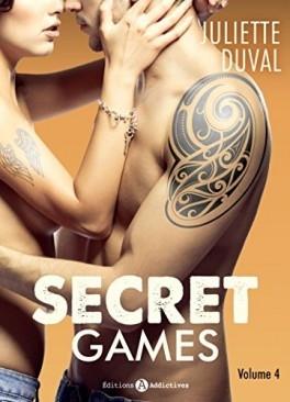 Couverture Secret games, tome 4