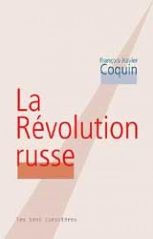 Couverture La Révolution russe
