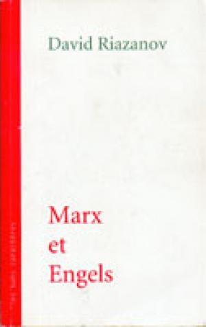Couverture Marx et Engels