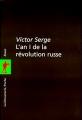 Couverture L'an I de la révolution russe Editions La découverte (Poche) 1999