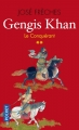 Couverture Gengis Khan, tome 2 : Le conquérant Editions Pocket 2017