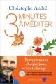Couverture 3 minutes à méditer Editions L'Iconoclaste 2016