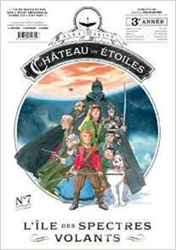 Couverture Le château des étoiles (revues), tome 07 : L'île des spectres volants