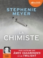 Couverture La chimiste Editions Audiolib 2017
