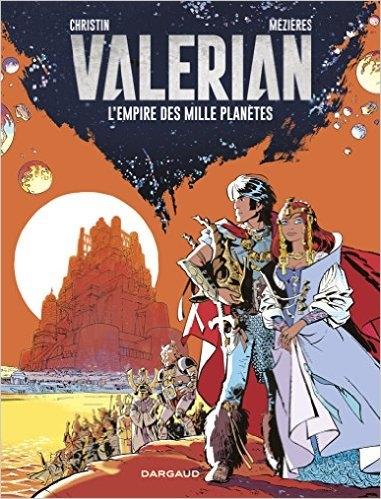 Couverture Valérian, Agent Spatio-temporel, tome 02 : L'Empire des mille planètes