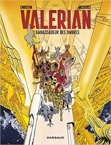 Couverture Valérian, Agent Spatio-temporel, tome 06 : L'Ambassadeur des Ombres
