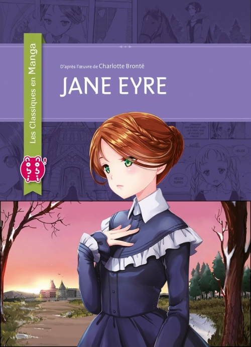 Couverture Jane Eyre (manga)
