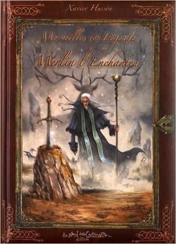 Couverture Merveilles et Légendes de Merlin l'Enchanteur