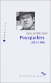 Couverture Pourparlers Editions de Minuit 2003