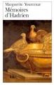 Couverture Mémoires d'Hadrien Editions Folio  2001