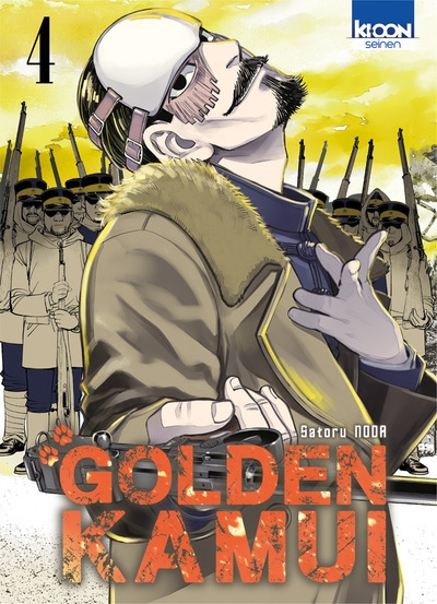Couverture Golden Kamui, tome 04