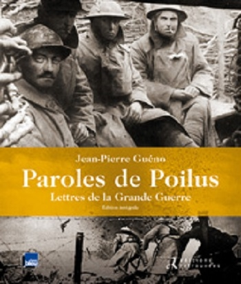 Couverture Paroles de Poilus