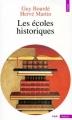 Couverture Les écoles historiques Editions Seuil (Histoire) 1983