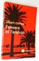 Couverture L'envers et l'endroit Editions Le Livre de Poche 1937