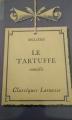 Couverture Le Tartuffe Editions Larousse (Classiques) 1933