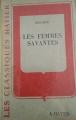 Couverture Les Femmes savantes Editions Hatier 1951