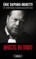 Couverture Directs du droit Editions Michel Lafon 2017
