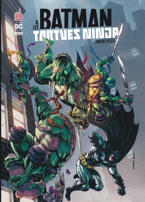 Couverture Batman & Les Tortues Ninja : Amère Pizza