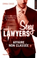 Couverture Sexy lawyers, tome 3 : Affaire non classée Editions Hugo & cie (New romance) 2017