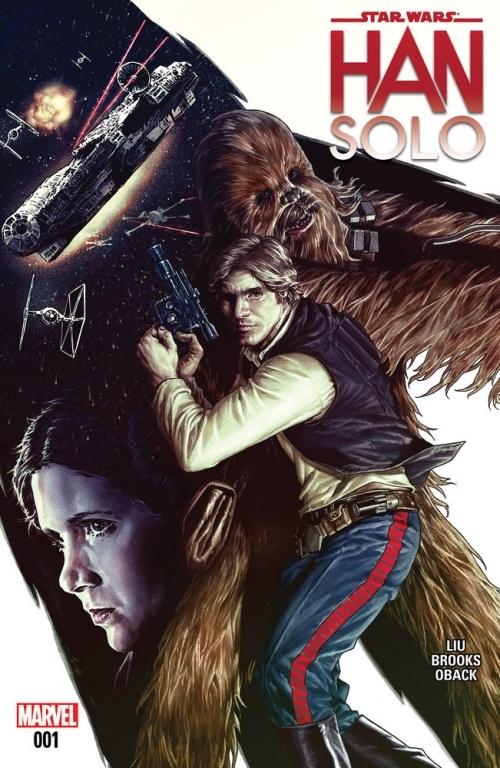 Couverture Star Wars : Han Solo : La course du vide du dragon